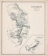 Franklin, Lake City(Franklin), New Hampshire State Atlas 1892 Uncolored